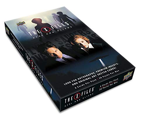 Upper Deck 2019 X-Files UFOs and Aliens Factory Sealed Trading Card Box