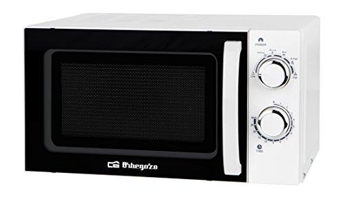 Orbegozo MI 2015 – Microondas sin grill (700 W de potencia, 20 L, 6 niveles de funcionamiento), color blanco