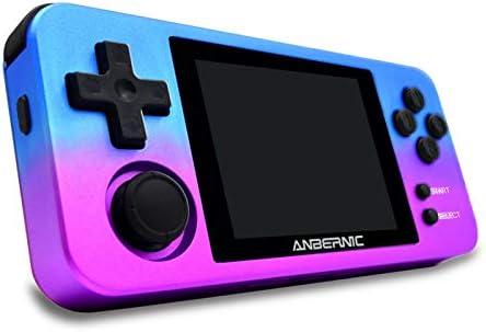 RG280M ポータブルゲーム機 Retro Game Opendingux システム 10000in1 ゲームコンソール 振動モーター 2.8インチIPSスクリーンを アルミニウム合金ケース 16GB 子供向け 誕生日 プレゼント