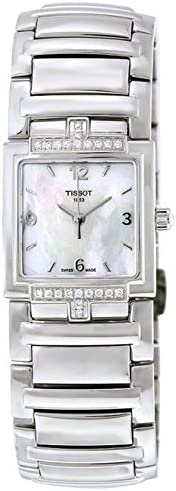 Tissot Women's T051.310.61.117.00 Mother-Of-Pearl Dial T Evocation Watch