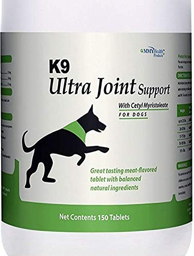 2 Bottle mmyHealth K9 Ultra Joint Support for Dogs,150 ct per Bottle (2 Bottle)
