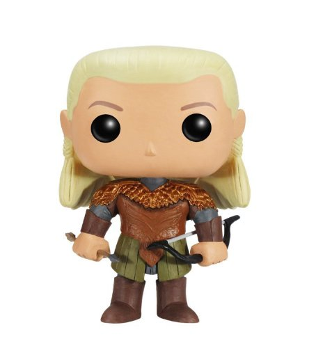 Pop! Movies - Legolas de The Hobbit 2, Figura de 10 cm (Funko SDTHOBB36