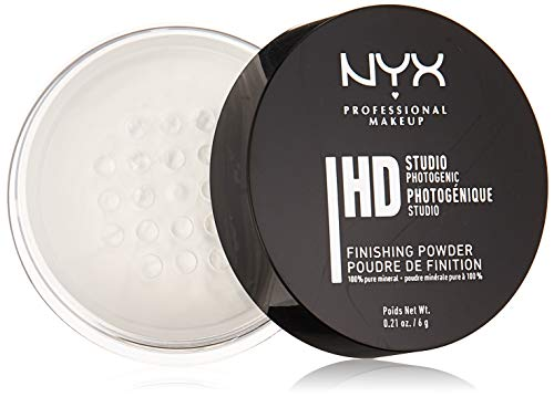 NYX Professional Makeup Studio Finishing Powder, Translucent Finish, 0.21 Ounce