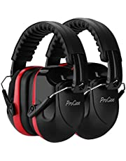 ProCase Noise Reduction Ear Muffs 2 Pack, NRR 28dB Hearing Ear Protection