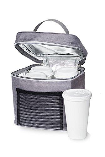 Insulated Beverage Carrier - 'BevBag' (Gray)