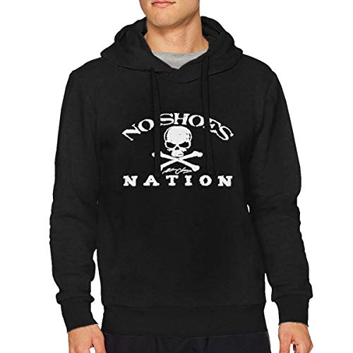 Kenny Chesney No Shoes Nation Muscle Mens Long Sleeve Sweatshirts Mans Hoodies Black ()