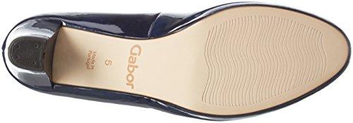 Gabor Shoes Fashion, Sandalias con Plataforma para Mujer Azul (Marine LFS Natur)