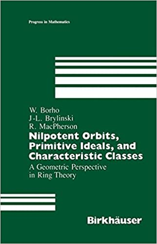 'Nilpotent Orbits, Primitive Ideals, and Characteristic Classes': A Geometric Perspective In Ring Theory (Progress in Mathematics)