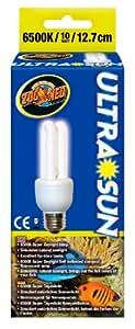 Zoo Med UltraSun Daylight Compact Fluorescent Bulb, 10-Watt