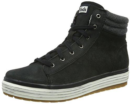 Donna black nero Keds Distr Rise nero Lth Vint Hi Nero Sneaker 0x7RHqp