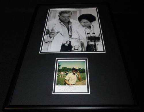 Robert Ito Signed Framed 12x18 Photo Pageantry RR LOA Quincy w/ Jack Klugman