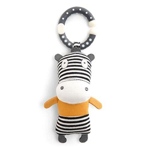 Mamas and Papas Babyplay Activity Toy, Mini Linkie Zebra