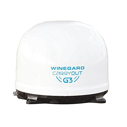 Winegard GM-9000 White Carryout G3 Satellite Antenna