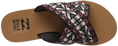 Flat Vintage Women's Sandal Surf Billabong Coral Bandit wxtqXIC6