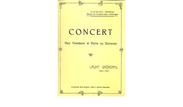 launy grondahl trombone concerto pdf free