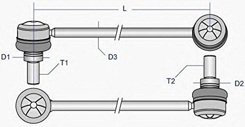MOOG MD-LS-1117 Rod//Strut Stabilizer