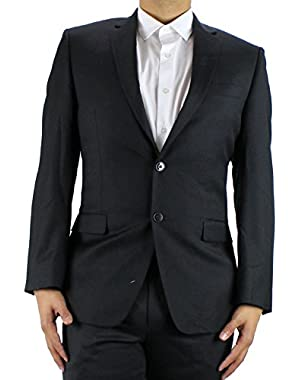 Calvin Klein Black Slim Fit Jacket 42S