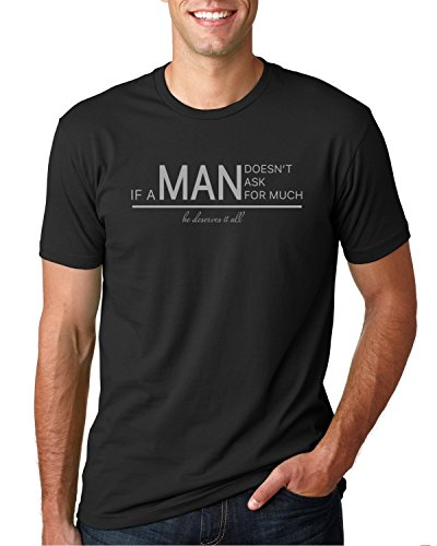 Men's Graphic Funny T-shirt Quotes Man Quote Gift