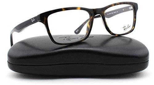 Ray-Ban RX5279 2012 Eyeglasses Dark Havana Frame - Reading Ban Ray Clubmaster Glasses