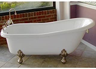 """product image for Imperial 66"""" x 30"""" Bathtub Color: Brass"""