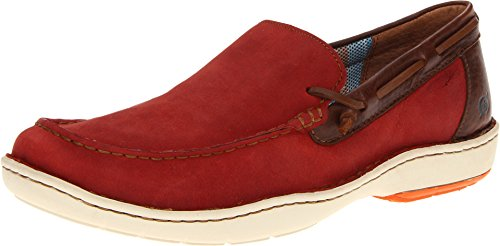 Born Men's Red Crest 8.5 D(M) US