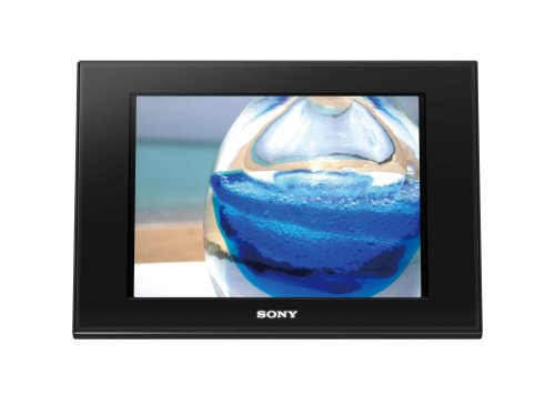 Sony DPF-D80 8-Inch LCD Digital Photo Frame (Black)