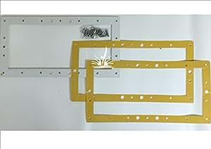 Kit Corredo Brida Juntas y compartimentos para skimmer piscina pool' S para revestimiento de PVC