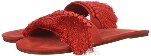 SCHUTZ Women's Maduna Slide Sandal, Summer Red, 8.5 M US by SCHUTZ (Image #6)