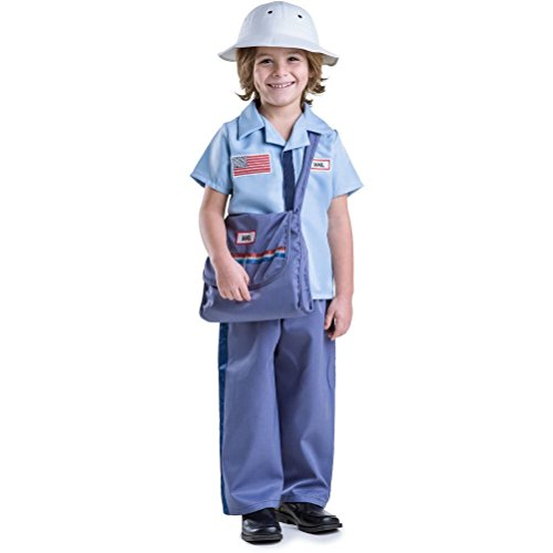 Officer And A Gentleman Fancy Dress Costume (Dress Up Mail Carrier Costume)