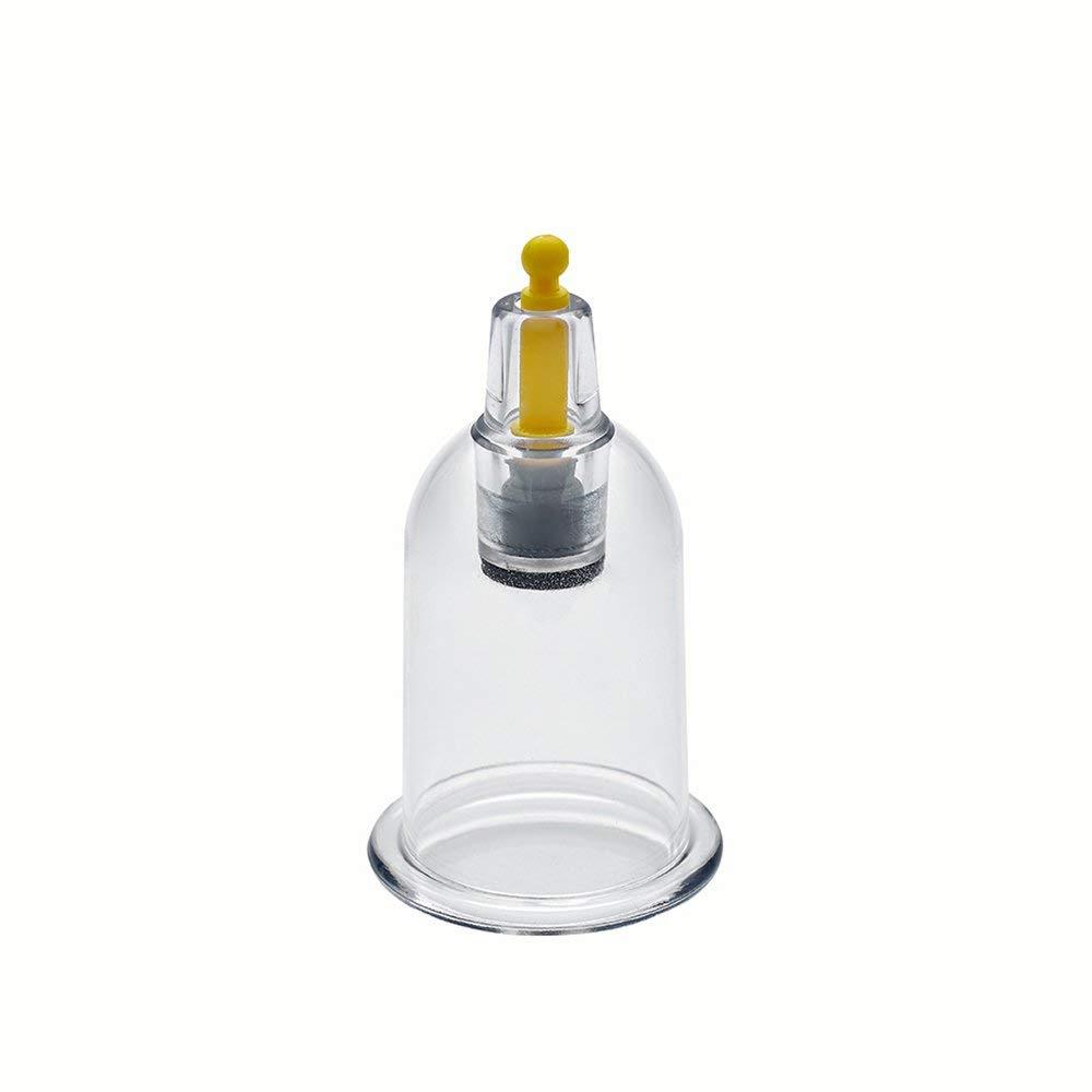 Hygama jetable de physioth/érapie de tasse de traitement de mise en cuve en gros de vide 50 Cups, B4 - Inner 3.56cm - Outer 4.0cm