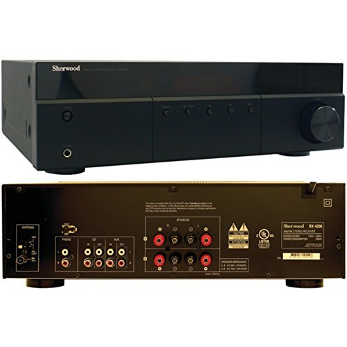 SHERWOOD RX-4208 200-Watt AM/FM Stereo Receiver Consumer Electronics by Sherwood