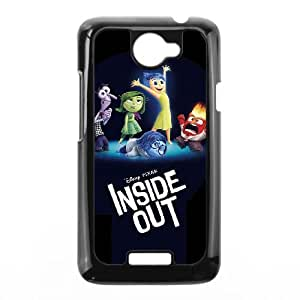 HTC One X Cell Phone Case Black Inside Out VIU935956