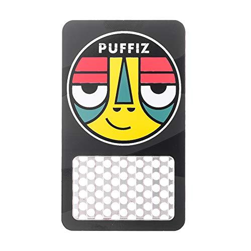 Puffiz Card Grinder Crusher Durable Stainless Steel Metal Grinder Card