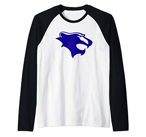 Georgian Court University Lions NCAA PPGCTU03 Raglan Baseball Tee ()