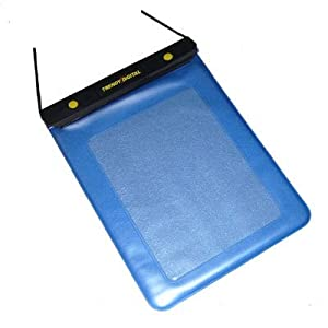 TrendyDigital WaterGuard Plus Waterproof Case for Apple iPad with Padding, Blue Border from TrendyDigital