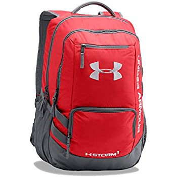 Under Armour Hustle II Storm Laptop Backpack (One Size, Red)