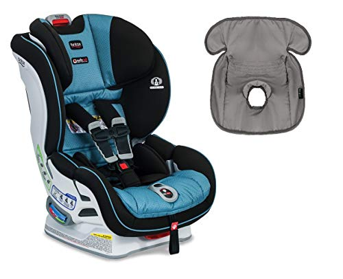Britax Boulevard ClickTight Convertible Car Seat with Free Waterproof Seat Liner (Poole)