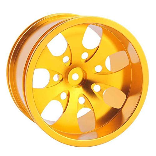 Toyoutdoorparts RC 08008N Gold Alumiunm Wheel 4P Rims D:78mm W:50mm for HSP 1:10 Monster Truck by Toyoutdoorparts (Image #4)