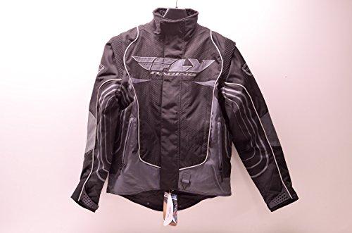 Fly Racing 470-2150S Snowcross Jacket Black/Grey Small S Mens QTY 1
