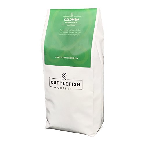 Sugarcane Decaffeinated Colombia Freshly Roasted Coffee Beans Perfect For Espresso, Cafetiere, Aeropress, Chemex and Hario - 1Kg Whole Beans