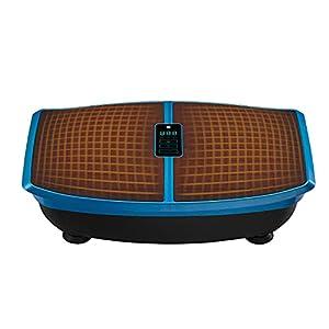 LifePro Waver Enhance Heated Vibration Plate Exercise Machine – Back Exercise, Calf & Leg Exerciser, Body Sculpting, Home Gym, Lymphatic Drainage Machine Vibrating Platform