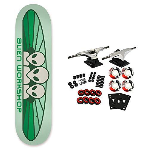 Alien Workshop Skateboard Complete Spectrum Pastel Green - Wheels Alien Skateboard Workshop