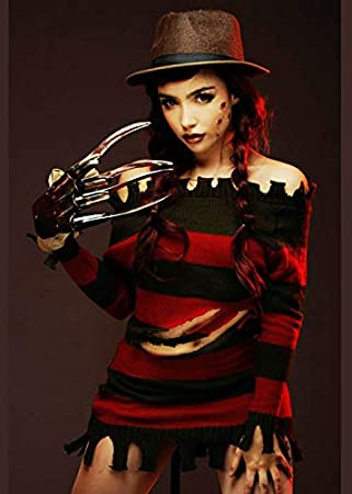 Magic Box Disfraz para Mujer Halloween Miss Freddy Krueger M (UK ...
