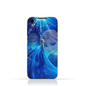 BlackBerry DTEK50 TPU Protective Silicone Case with Frozen Elsa Design