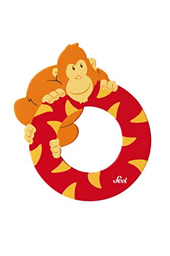 SEVI 1831 - Graffiti Animals - Letter O orangutan (81615) (Sevi Letters Wooden)