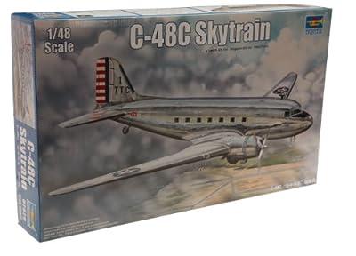 Trumpeter 1/48 C48C Skytrain Transport Aircraft Model Kit