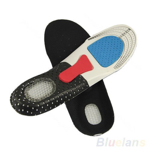 Unisex Hike Sport Orthotic Arch Support Pad Gel Shoe Insoles Insert Cushion B27U from broadfashionus
