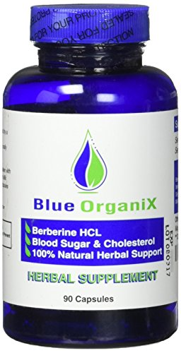 Berberine 500mg HCL Complex Supplement - with Silymarin for Better Absorption, Herbal Antimicrobial, Cholesterol Support, Natural Alternative to Metformin