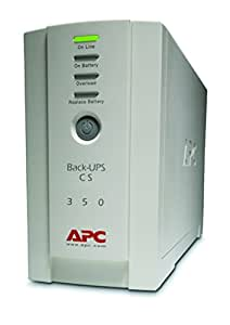 APC BK350EI Back-UPS CS 350 (230 Volts Only) (Discontinued by Manufacturer)
