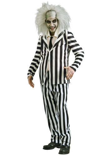 Adult Beetlejuice Costume, Medium (Ric Flair Costumes)